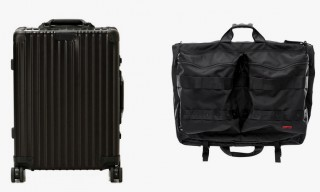 Rimowa and Briefing for United Arrows 25th Anniversary Bespoke Luggages