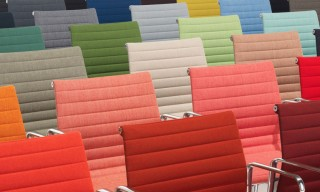 Vitra Release New Colors of the Aluminum Eames Chair
