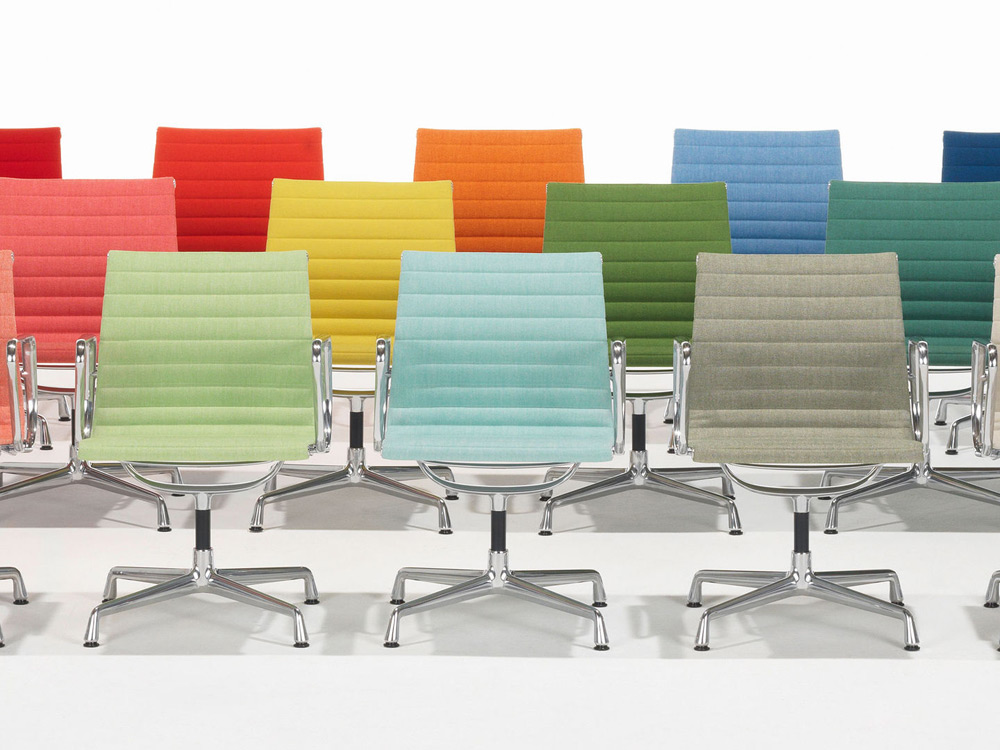vitra release new colors of the aluminum eames chair 2014 selectism. Black Bedroom Furniture Sets. Home Design Ideas