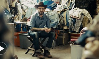 Inside the Amazing Vintage Denim Collection of Blue Blanket's Antonio Di Battista
