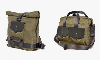 Bill Amberg Extend their Lightweight Nylon Bag Range