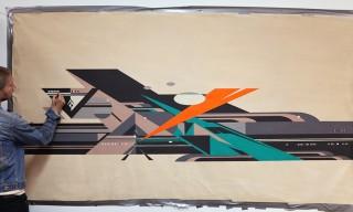 Graffiti Artist Rubin Lends Graphics to Sweden's COMMON for Spring 2014
