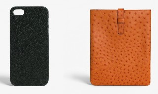 The Case Factory Leather iPad & iPhone Accessories in a Range of Finishes