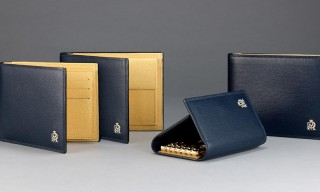 Exclusive Look at Alfred Dunhill's Belgrave Blue Accessories