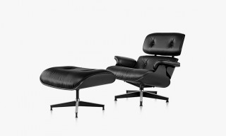 A Closer Look at the Herman Miller All-Black Eames Lounge Chair & Ottoman