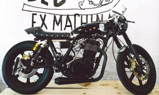 Deus Ex Machina and Freemans Sporting Club Motorbike and Pop-Up