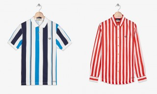 Fred Perry Create Unique Striped Shirt Line with Southsea Deckchairs