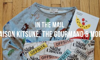 In The Mail | Maison Kitsuné, The Gourmand & More