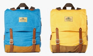 Seil Marschall for Junya Watanabe MAN Waxed Canvas Backpacks