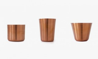 Makr Hand-Turned Copper Tumbler Set – 3 Sizes