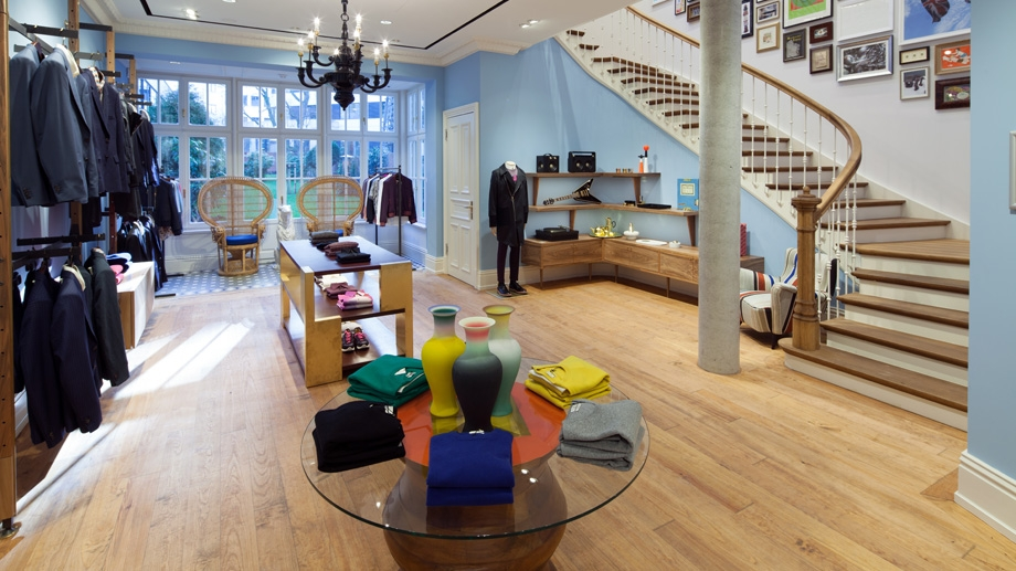 Paul Smith Takes Us on a Tour of His New Hamburg Store