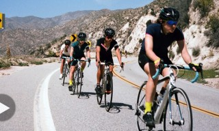 Watch Rapha Women Ride the Challenging Tour of California Route