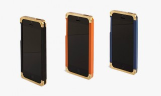 Solid Brass iPhone 5/5s Cases for a Good Cause from REVISIT