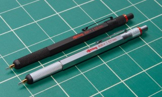 Introducting the New rOtring 800+ Mechanical Pencil with Stylus Tip