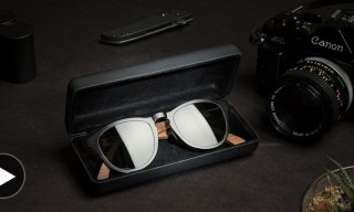 Shwood Fifty/Fifty Wood and Titanium Eyewear