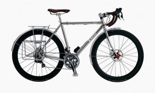 Outdoors Brand Snow Peak Create a Stainless Steel Bike with Muller