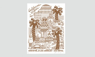 Steven Harrington Creates 2 Exclusive Prints for ACE Hotel Los Angeles