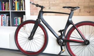 The Ergonomic Valour – A Lightweight Carbon Fibre Smart Bike from Vanhawks