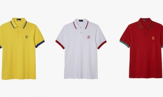 Fred Perry Celebrate the 2014 World Cup with 10 Country Polo Collection