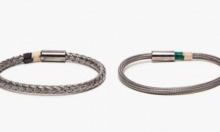 Yuvi Sterling Silver Mesh Bracelets