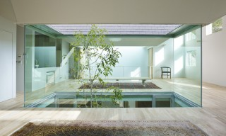 Inside Osaka's Atlas House with Glassed Voids