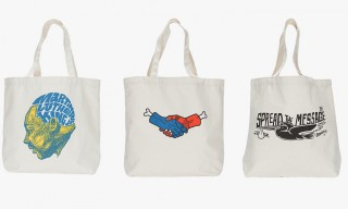 Brownbreath Spring/Summer 2014 Symbiosis Canvas Totes