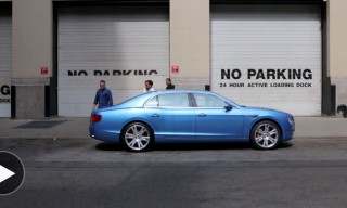 Watch the Making of Cool Hunting's Bespoke Kingfisher Flying Spur Bentley