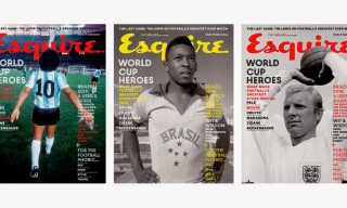 Esquire UK World Cup Issue Covers for June 2014