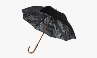 "maharishi for London Undercover Handmade ""Lunar Bonsai"" Umbrella"