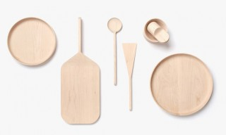 Blank Maple Wood Kitchenware by London's Mathias Hahn
