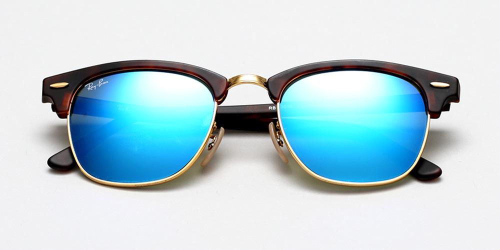 ray ban blauwe glazen prijs
