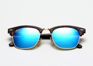 020a0d64f6 Ray-Ban Clubmaster Colored Mirrors Edition for Summer 2014 • Selectism