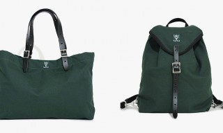 The Hunter Green Canvas Bag Series by South2 West8