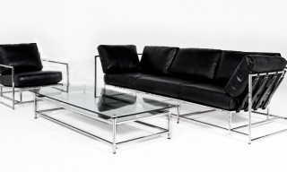 "Stephen Kenn and Chapter ""Parallel"" Leather Furniture and Accessories"