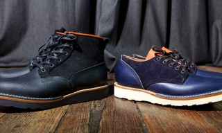 Viberg Boots for Up There Store Customized Oxford and Scout Boot