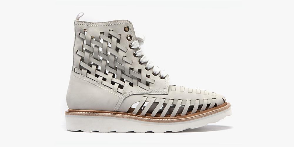 white-boot