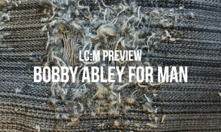 London Collections: Men Preview | Bobby Abley for MAN Spring/Summer 2015