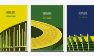 Illustrated FIFA World Cup Stadiums in Brazil