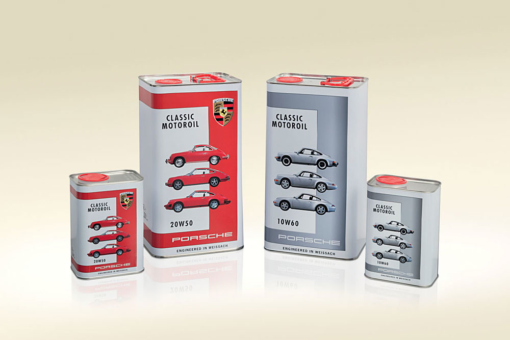 Porsche Release Classic Motor Oils for their Vintage Car Models
