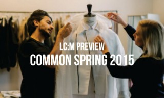 London Collections: Men Preview | Common Spring/Summer 2015