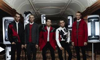 Dior Homme Fall 2014 Campaign in Motion