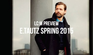 London Collections: Men Preview | E.Tautz Spring/Summer 2015