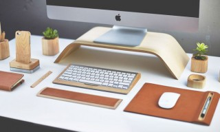 Grovemade Wooden Desk Accessories Collection