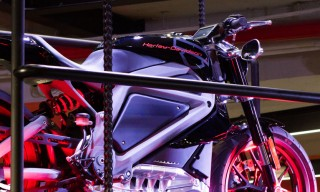 Scenes from Harley-Davidson's Project Livewire Launch in NYC