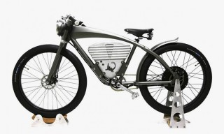 The ICON Electric Flyer, a WWI-Inspired E-Motorbike