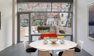 The Glass-Heavy NYC Townhouse Designed for Art Collectors