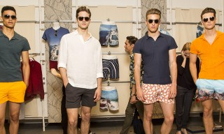 Orlebar Brown Present Swimwear & Accessories for Spring 2015