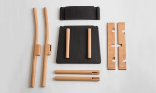 "The ""Peg and Hole"" Flat-Pack Chair from Paul Loebach"