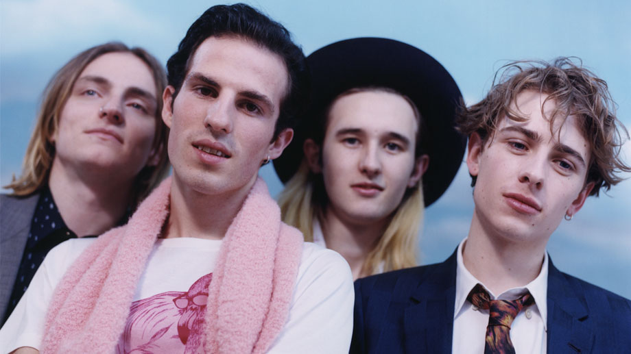 Paul Smith Pre Fall 2014 Modelled by British Band Swim Deep