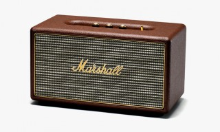 Bring Home the Look of VIntage Amps with the Marshall Stanmore Speaker